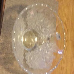 Glass serving bowl Studio Nova